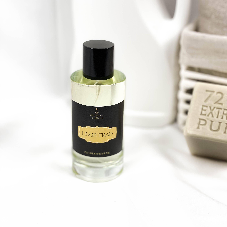 parfum d'intérieur senteur linge frais lessive odeur de propre adoucissant linge frais parfum d'intérieur