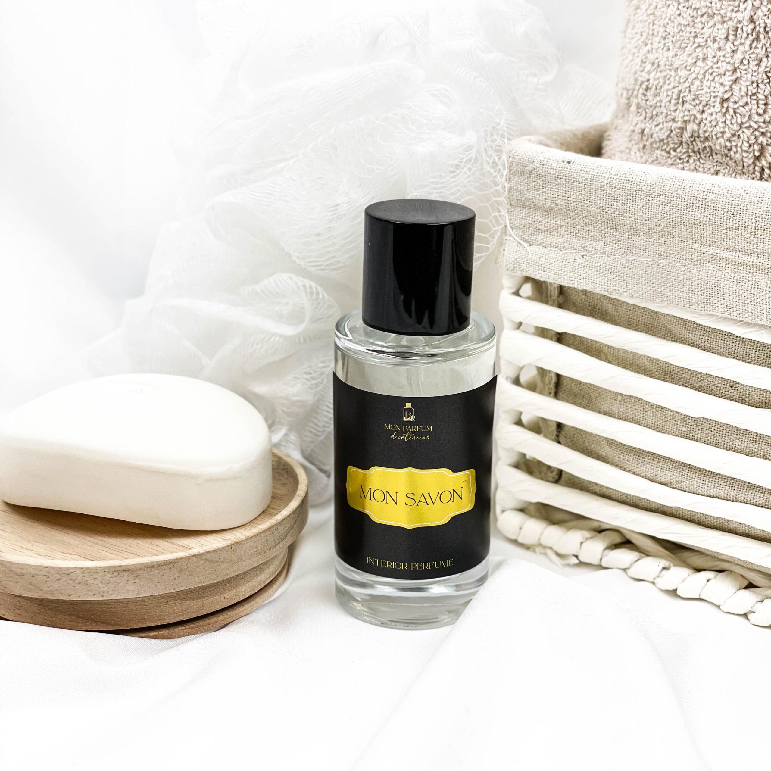 parfum d'intérieur linge frais odeur lessive propre adoucissant